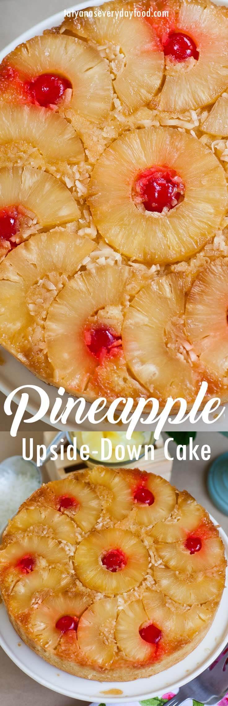 Coconut Upside Down Pineapple Cake video recipe