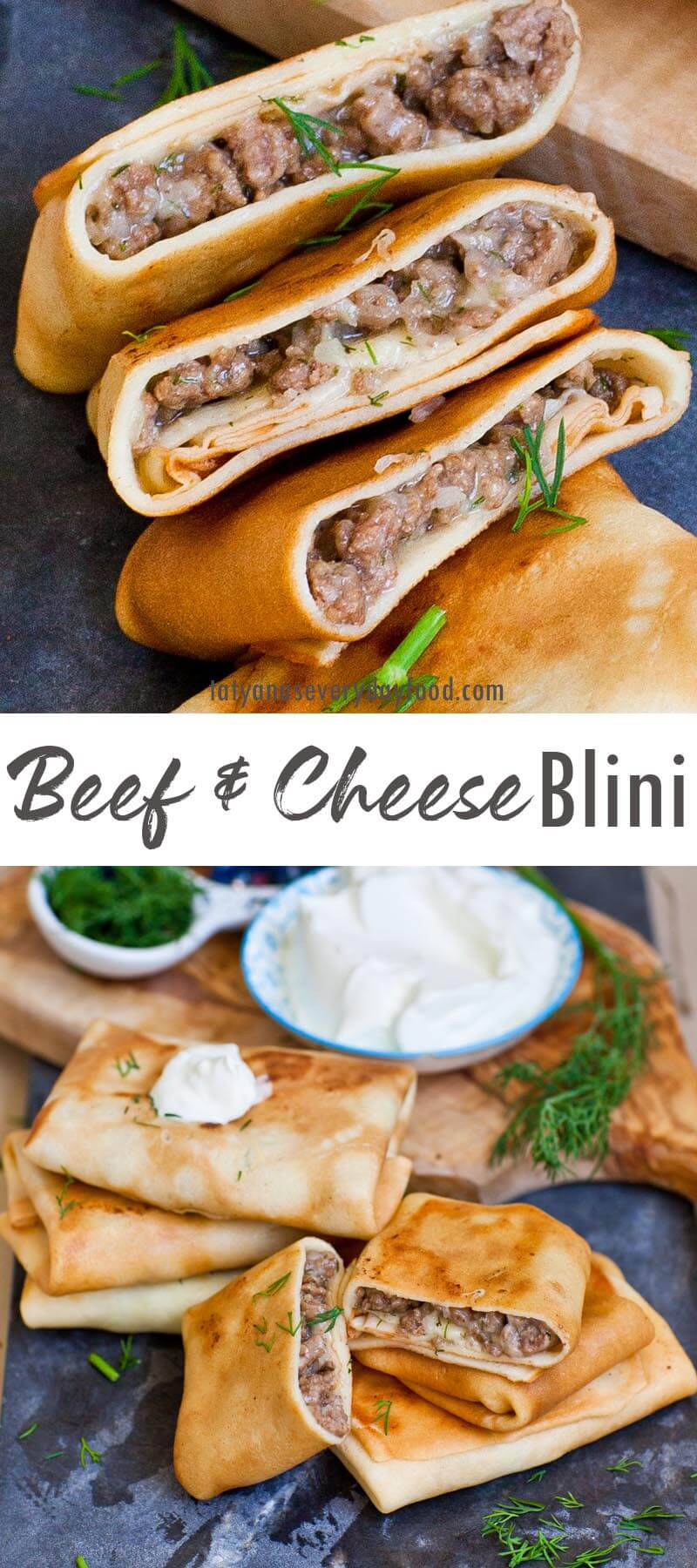 Meat & Cheese Blini video recipe
