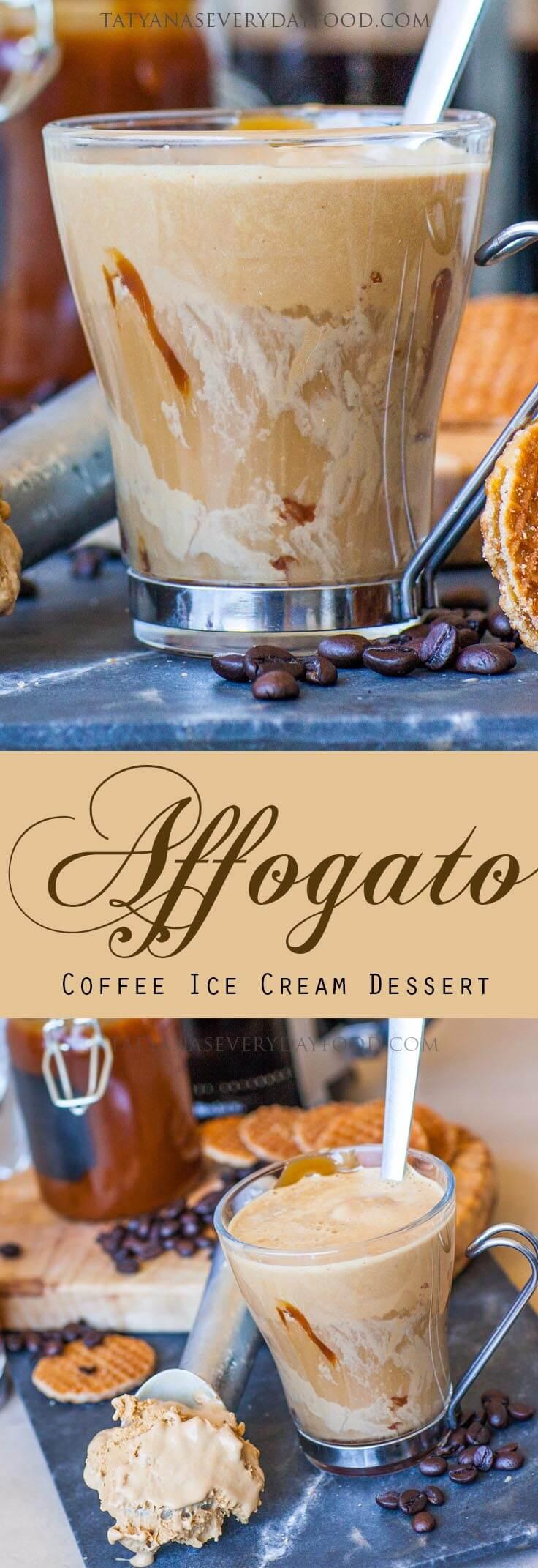 Affogato recipe - Italian Ice Cream Dessert