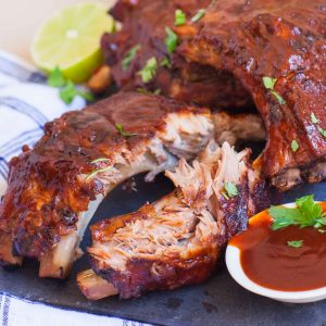 fall apart bbq pork ribs