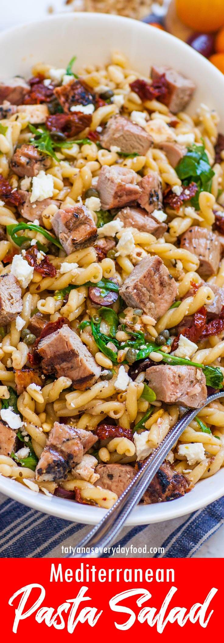 Mediterranean Pasta Salad video recipe