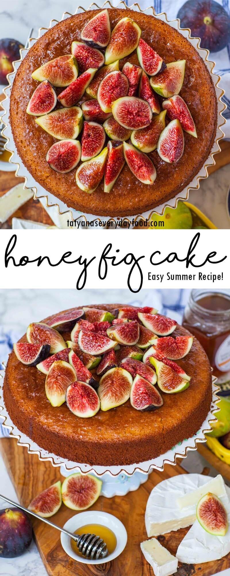 Easy Honey Fig Cake video recipe