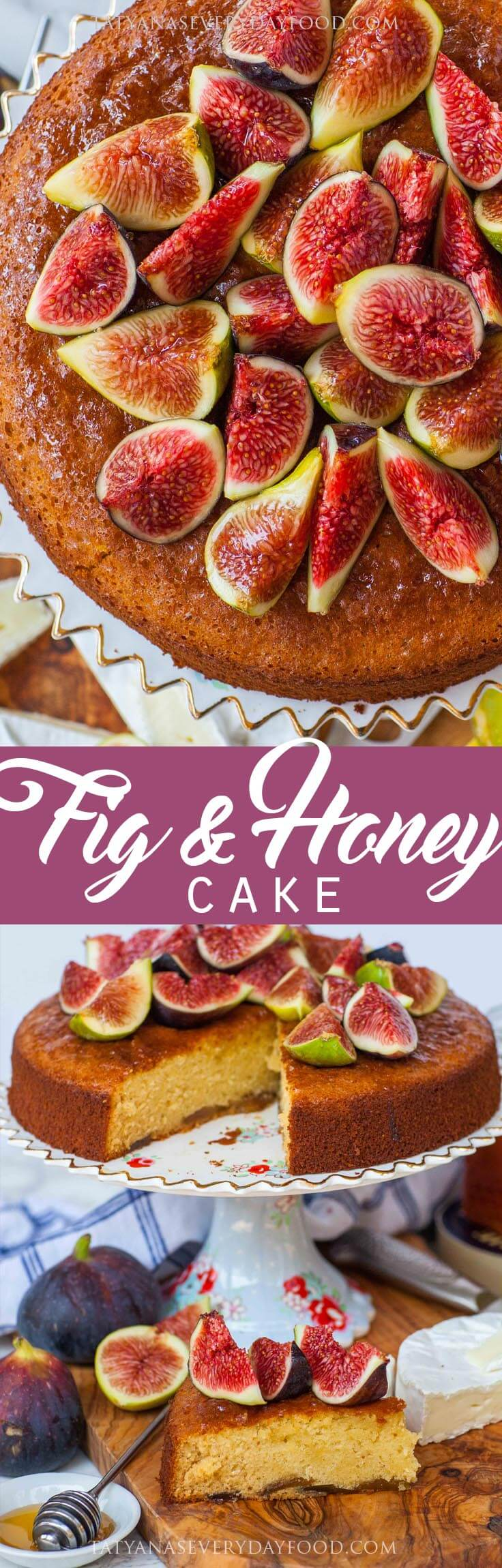 Easy Fig Cake with Honey - video recipe