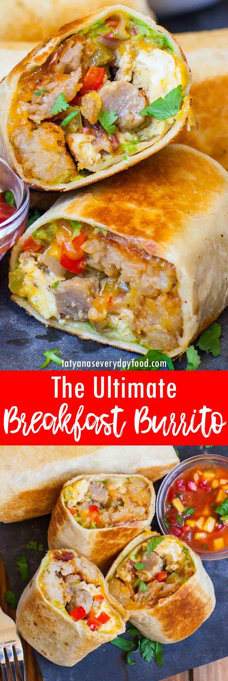The Ultimate Breakfast Burrito video recipe