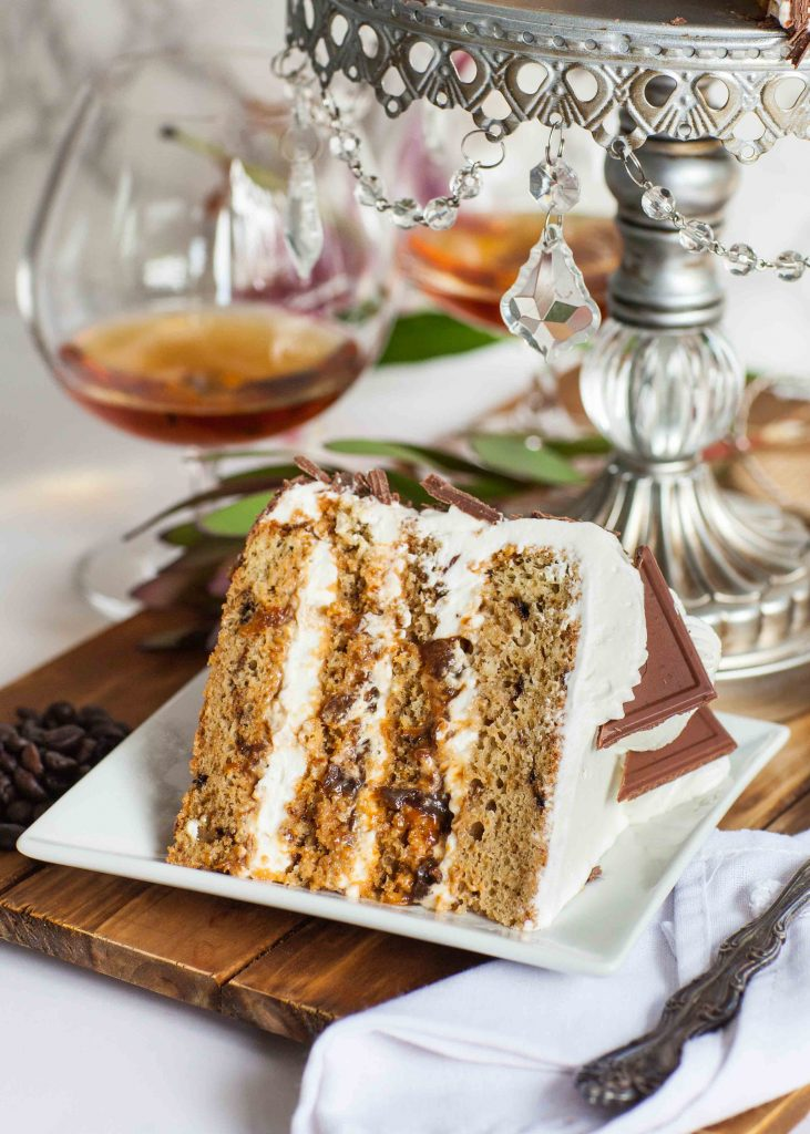 Prune Coffee Cake With Brandy - Tatyanas Everyday Food
