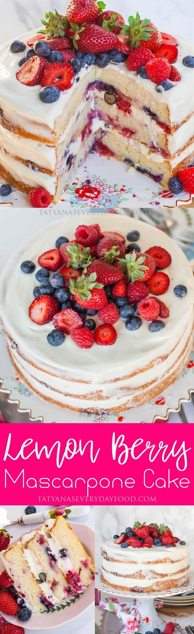 mascarpone cake pinboard