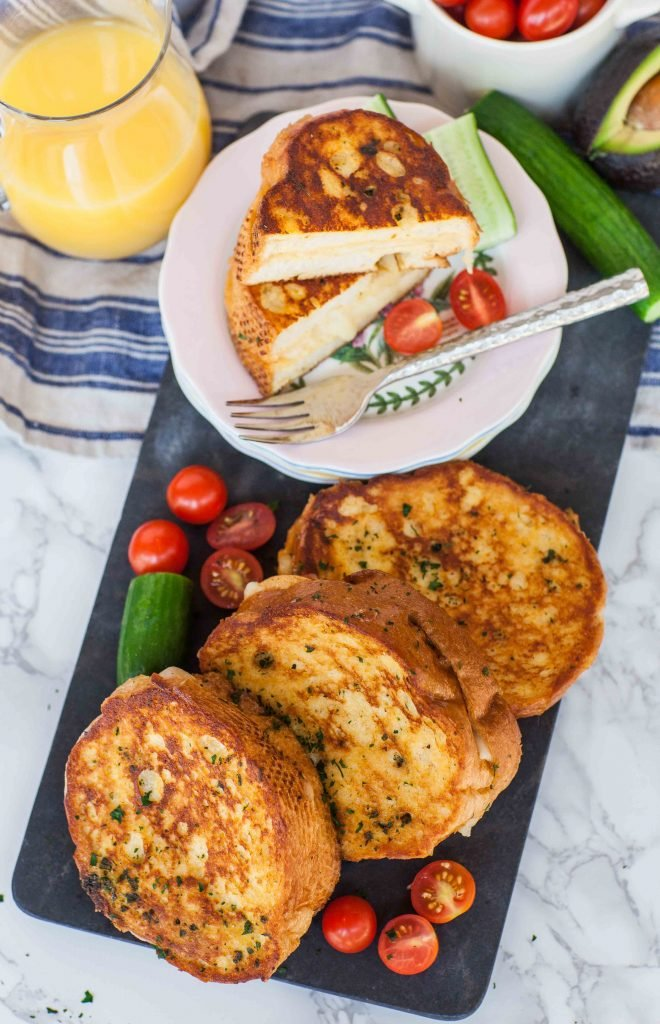 Savory French Toast With Cheese Tatyanas Everyday Food