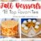 18 Top Favorite Fall Desserts