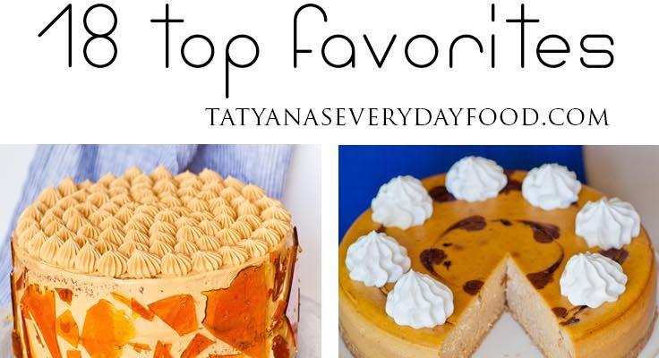 18 Top Favorite Fall Desserts