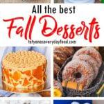 Best Fall Dessert Recipes