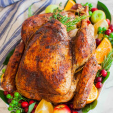 Best Turkey Recipe with garlic butter
