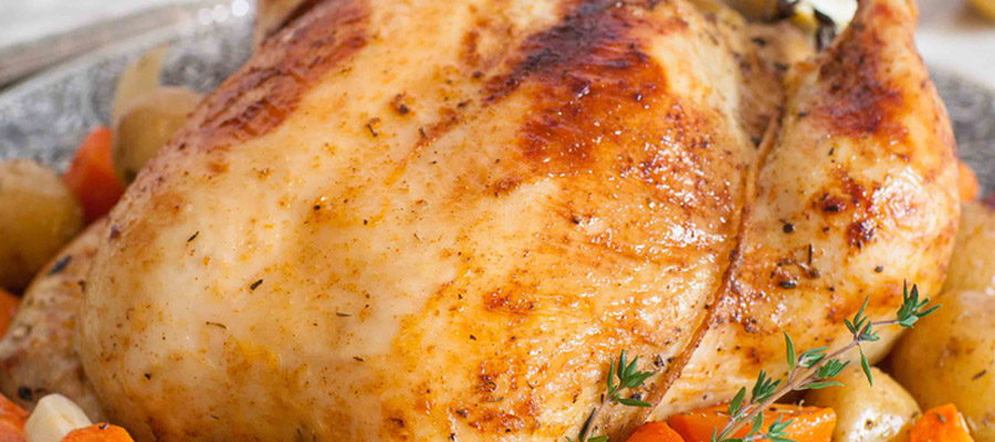 Oven-Roasted Garlic Buttermilk Chicken