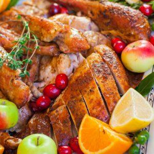 how to cut a turkey