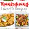 Thanksgiving Menu: Favorite Recipes