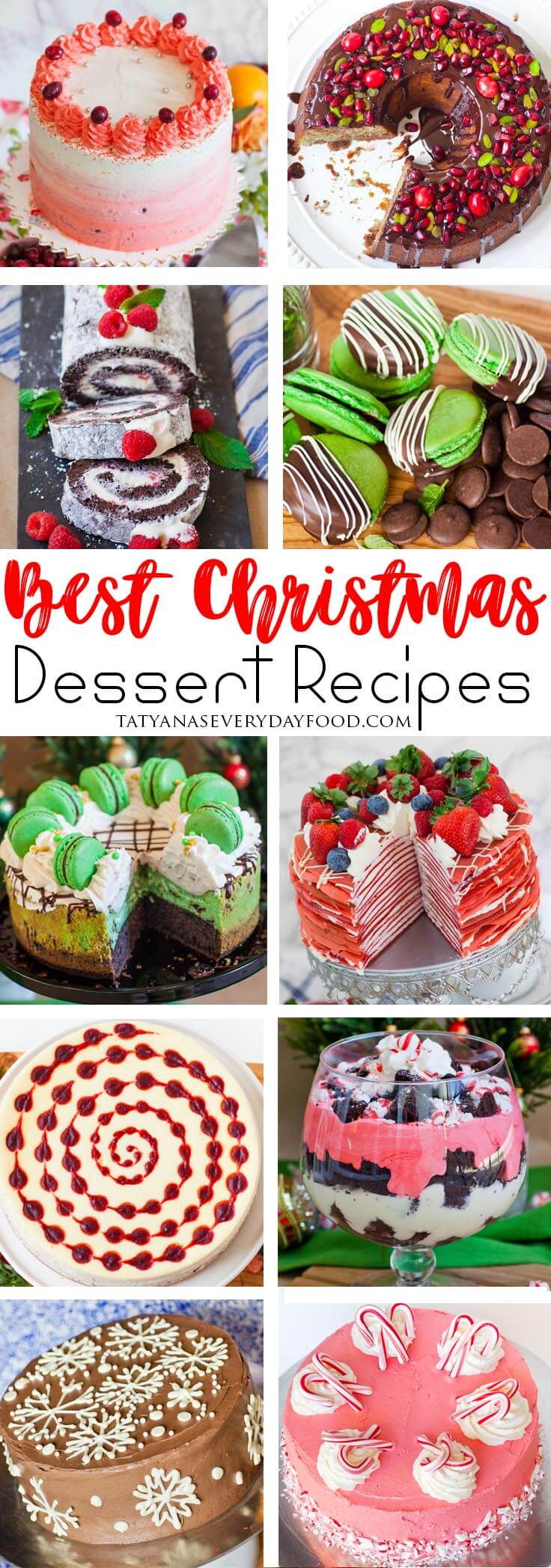all the best christmas desserts