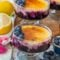 Blueberry Orange No-Bake Creme Brulee