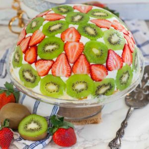 strawberry kiwi cake recipe