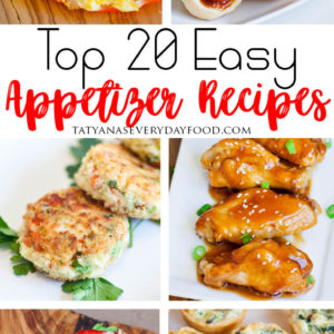 Best Appetizer Recipes for the holidays!