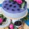No-Bake Blackberry Lavender Mousse Cake