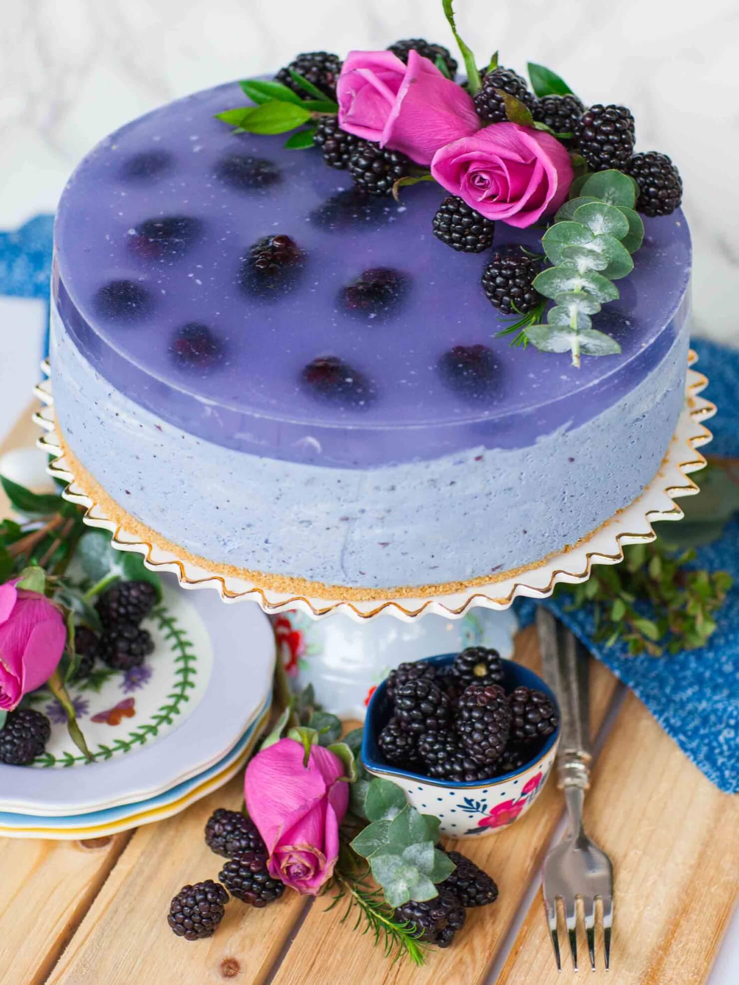 Heavenly Heart Cake