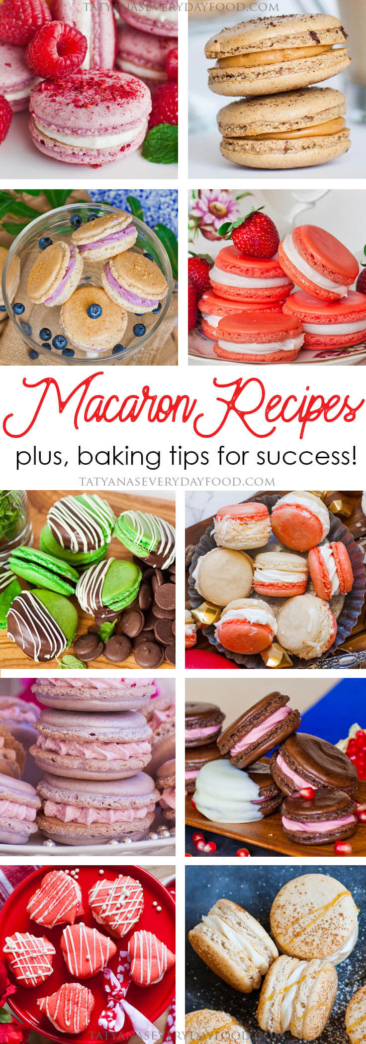 Best Macaron Recipes, plus baking tips for success!