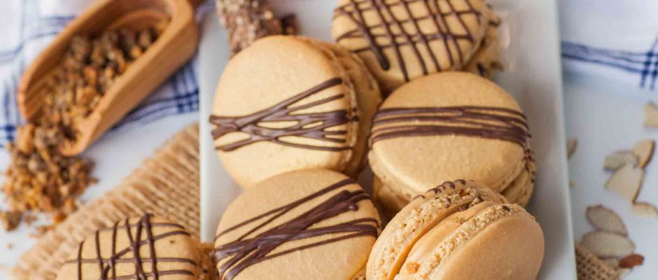 Amazing Almond Roca Macarons