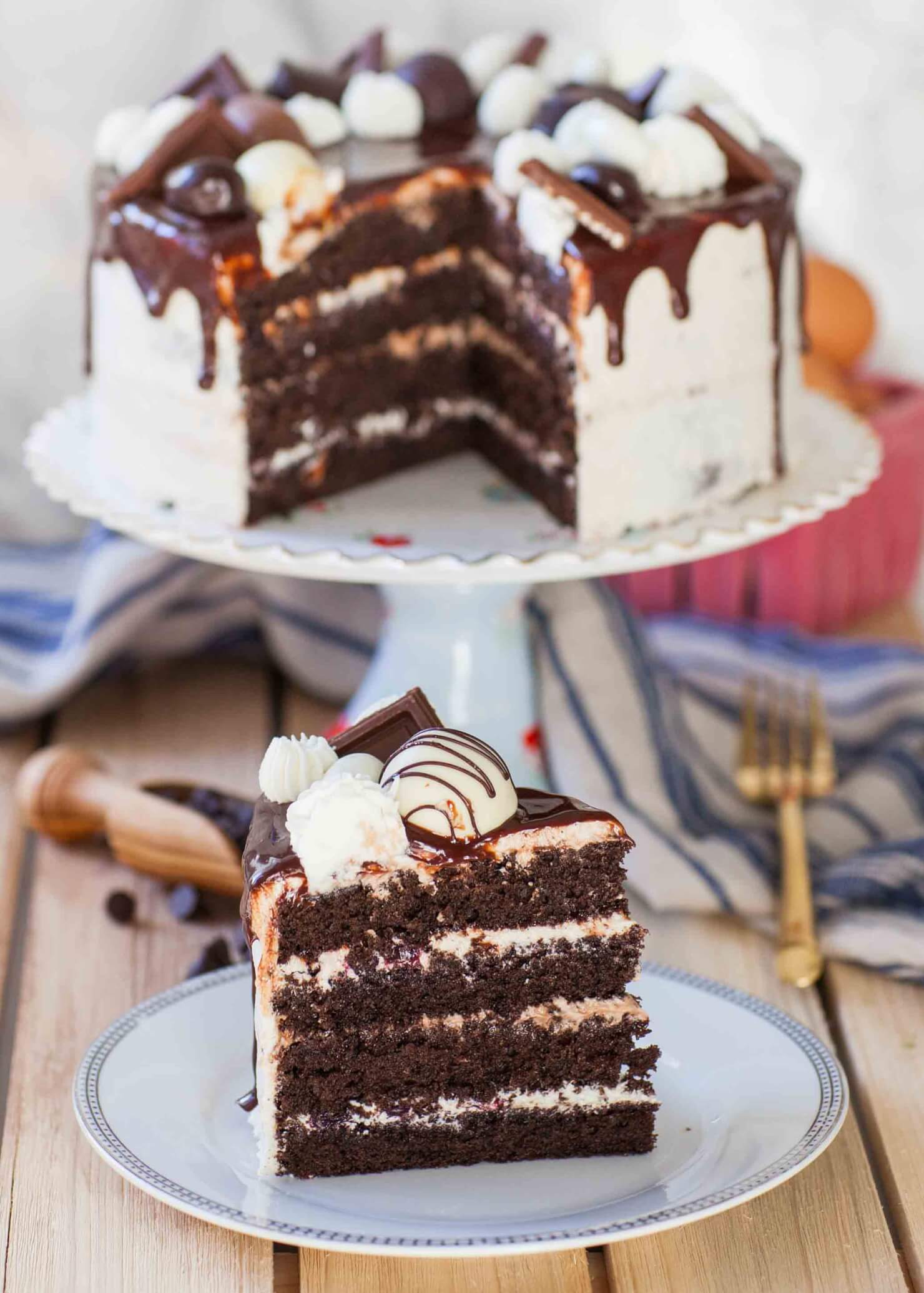 Ultimate Chocolate Sponge Cake