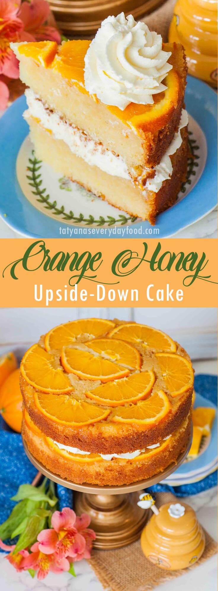 Orange Honey Upside-Down Cake video recipe