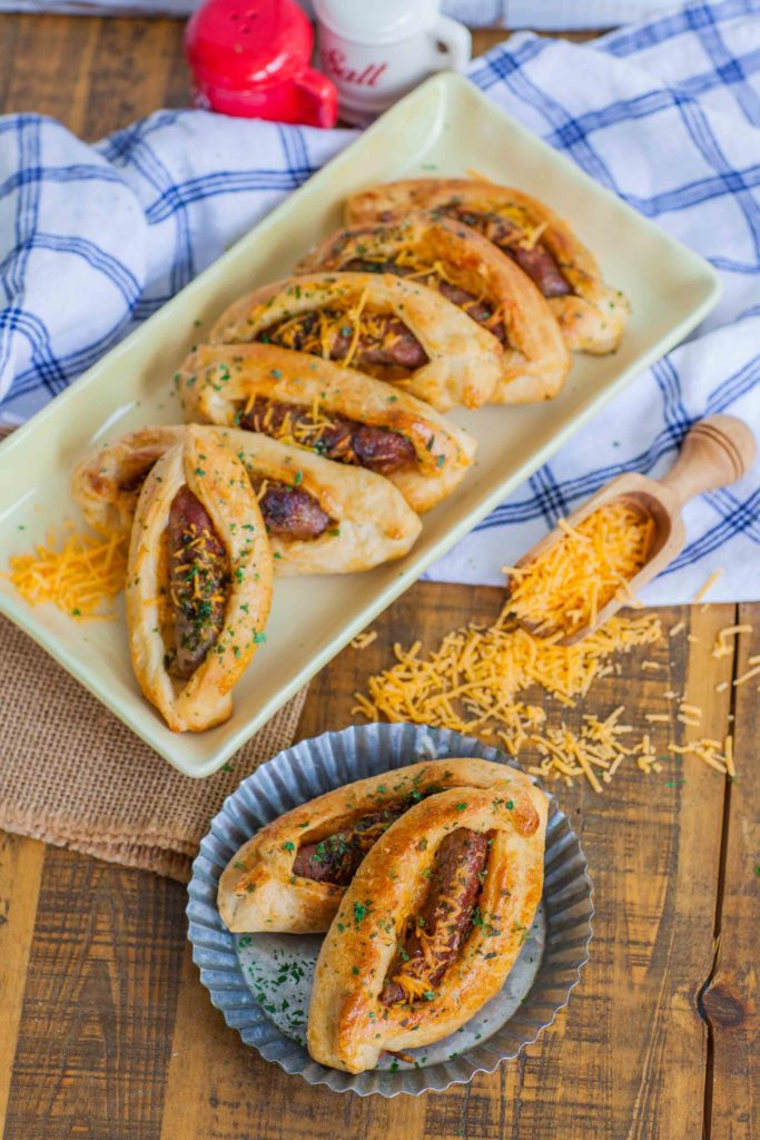 cheese croissant recipe with sausage