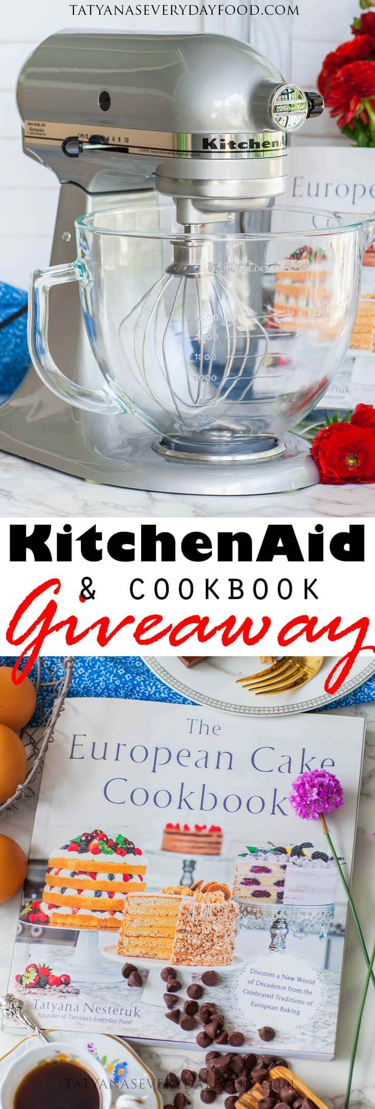 Kitchenaid mixer giveaway signed cookbook closed tatyanas want a sneak peak of the recipes in my book check out my french buttercream recipe here httpstatyanaseverydayfoodrecipe itemsfrench buttercream forumfinder Gallery