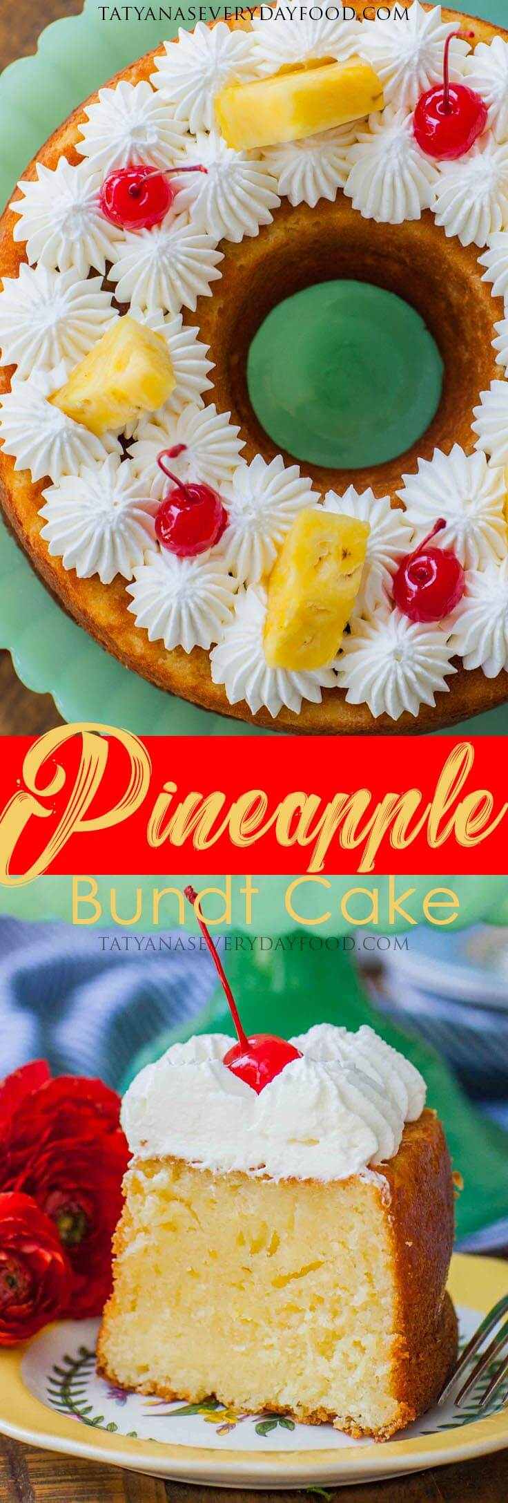 Easy Pineapple Bundt Cake Recipe with video