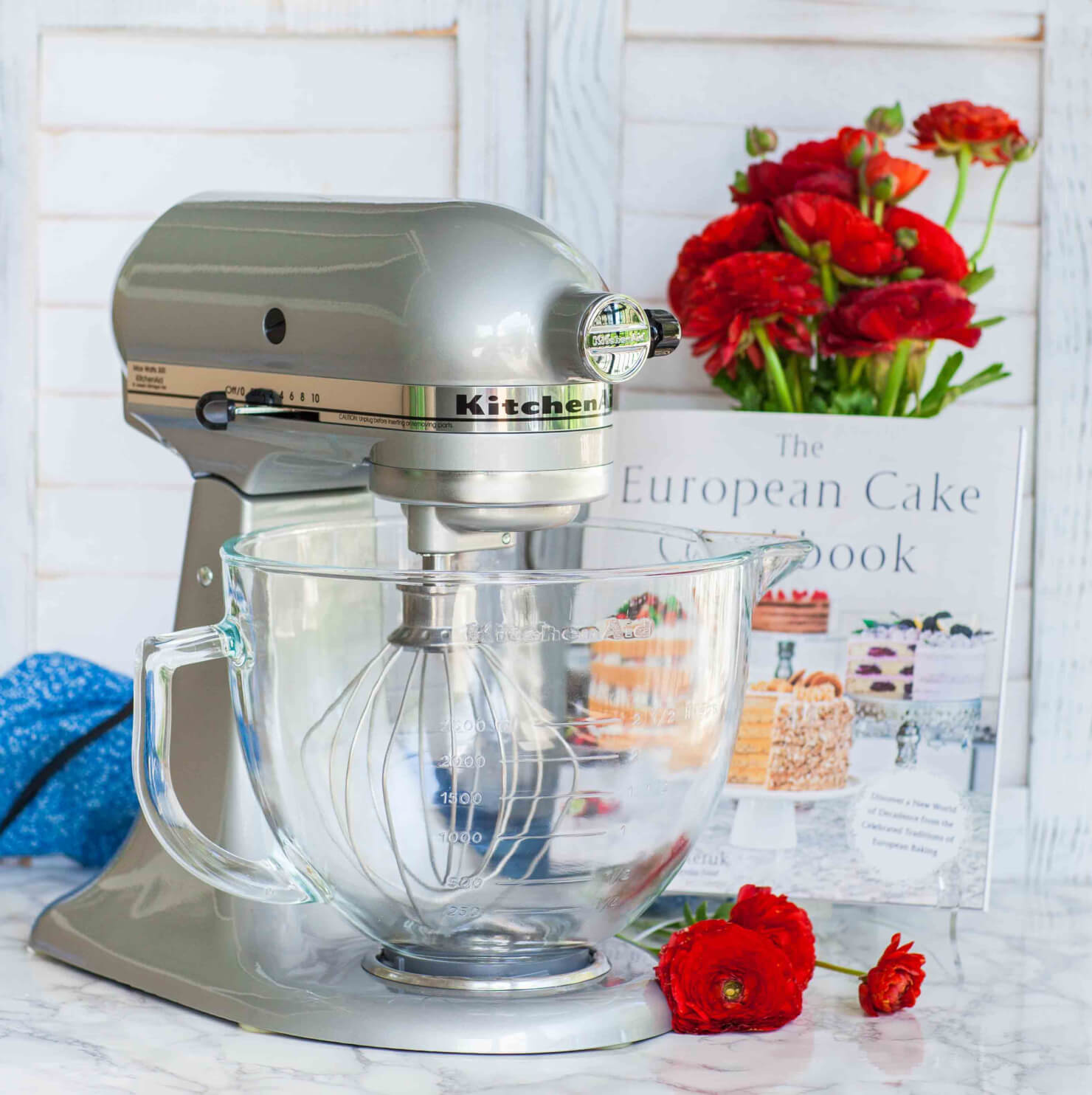 KitchenAid Mixer Giveaway +Signed Cookbook (Closed)