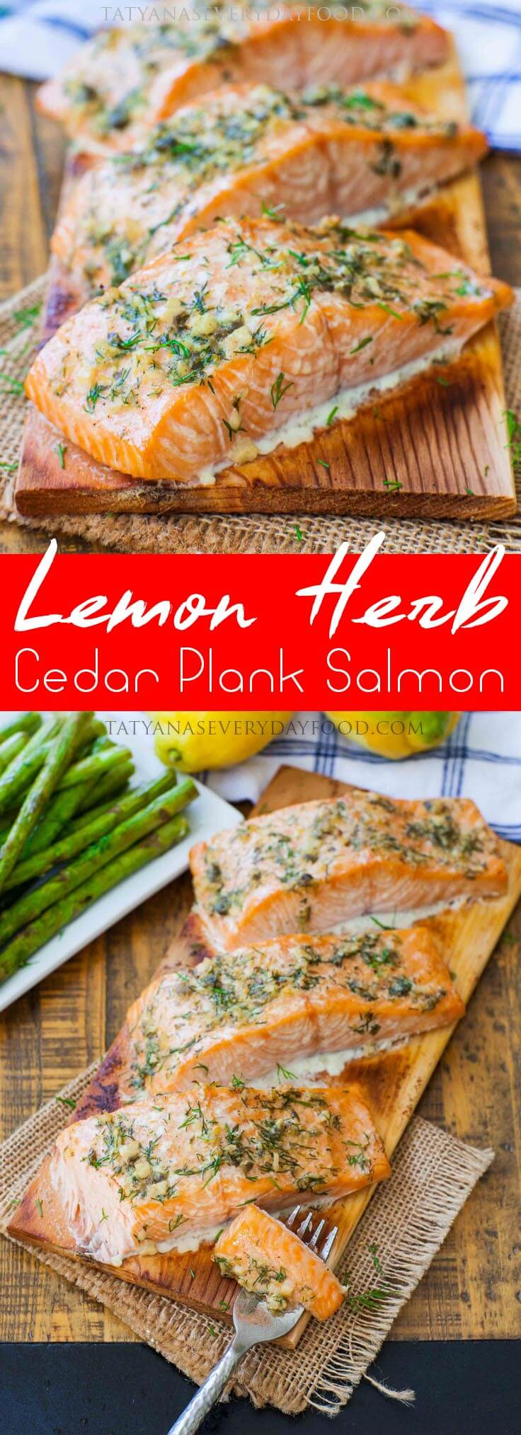 lemon herb salmon pinboard