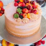 Summer Fruit Sangria Cake Recipe (video)