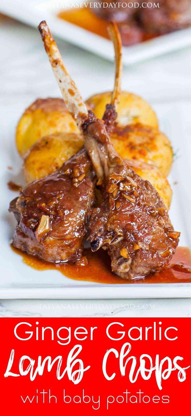Ginger Garlic Lamb Chops video recipe