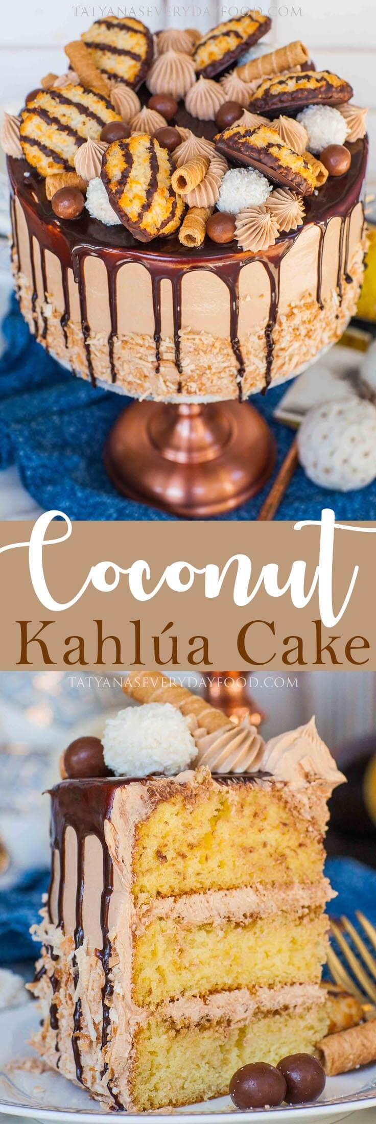 Coconut Kahlua Cake video recipe