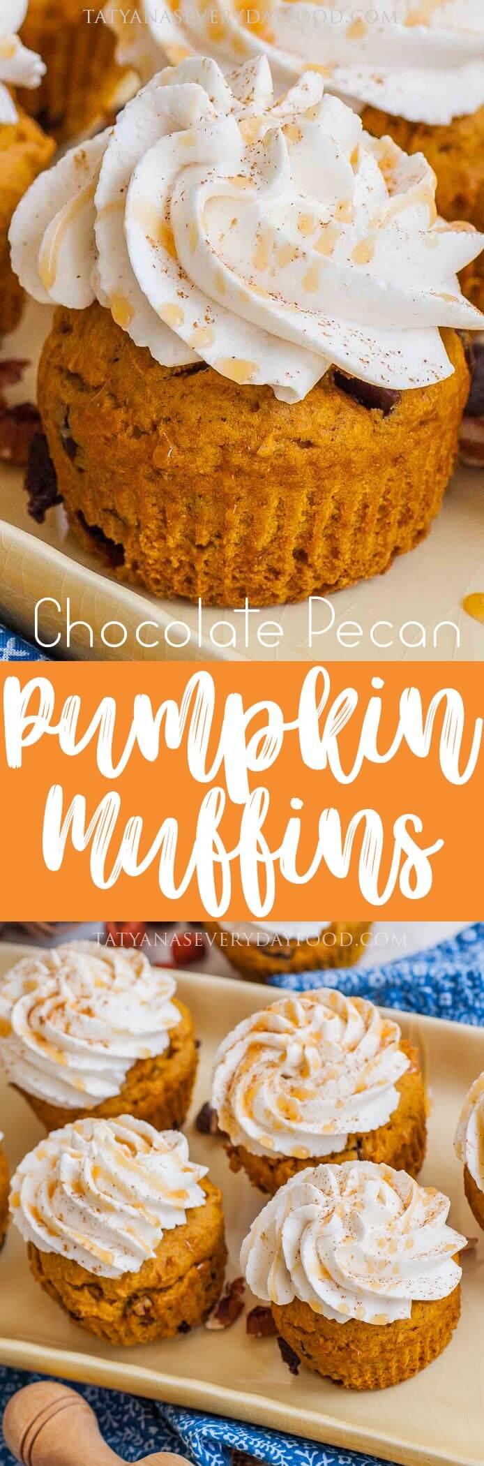 Pumpkin Muffins video recipe