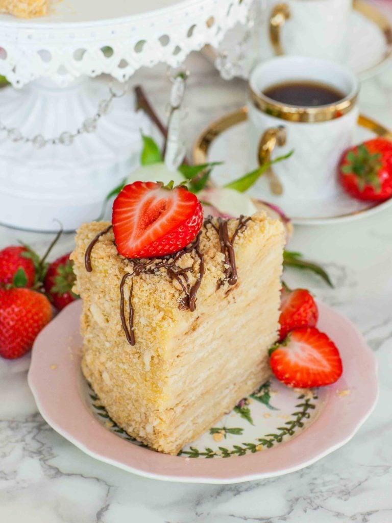 torte napoleon slice
