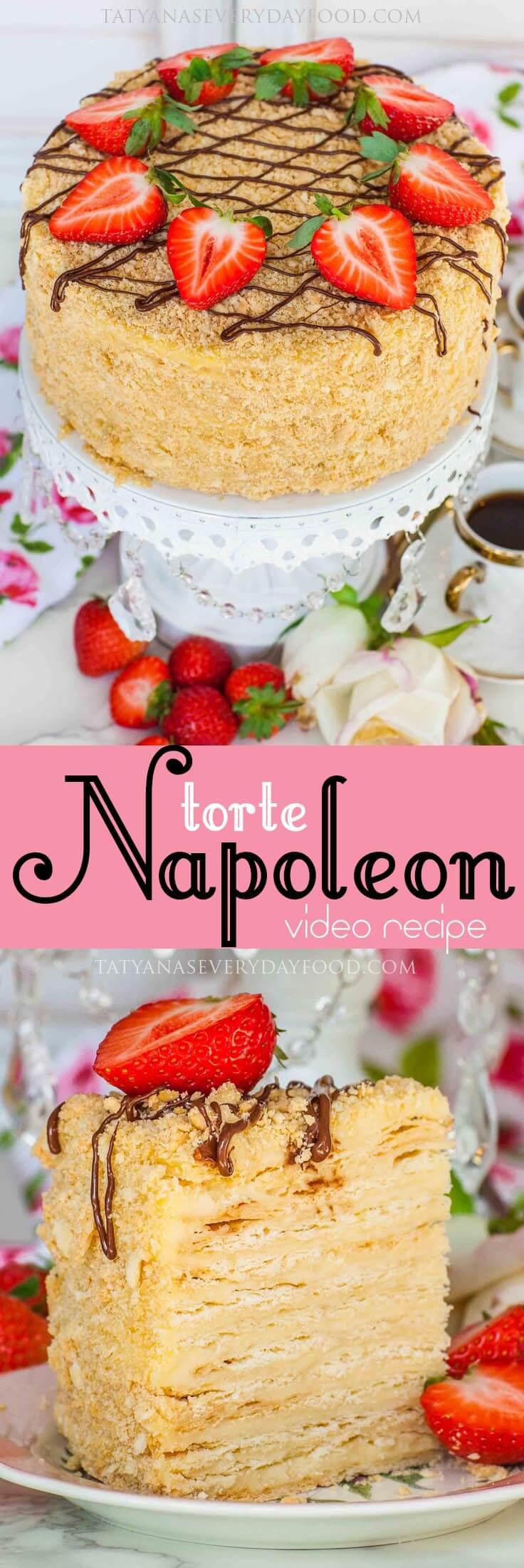 Torte Napoleon video recipe