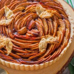 best apple tart recipe with all-butter crust