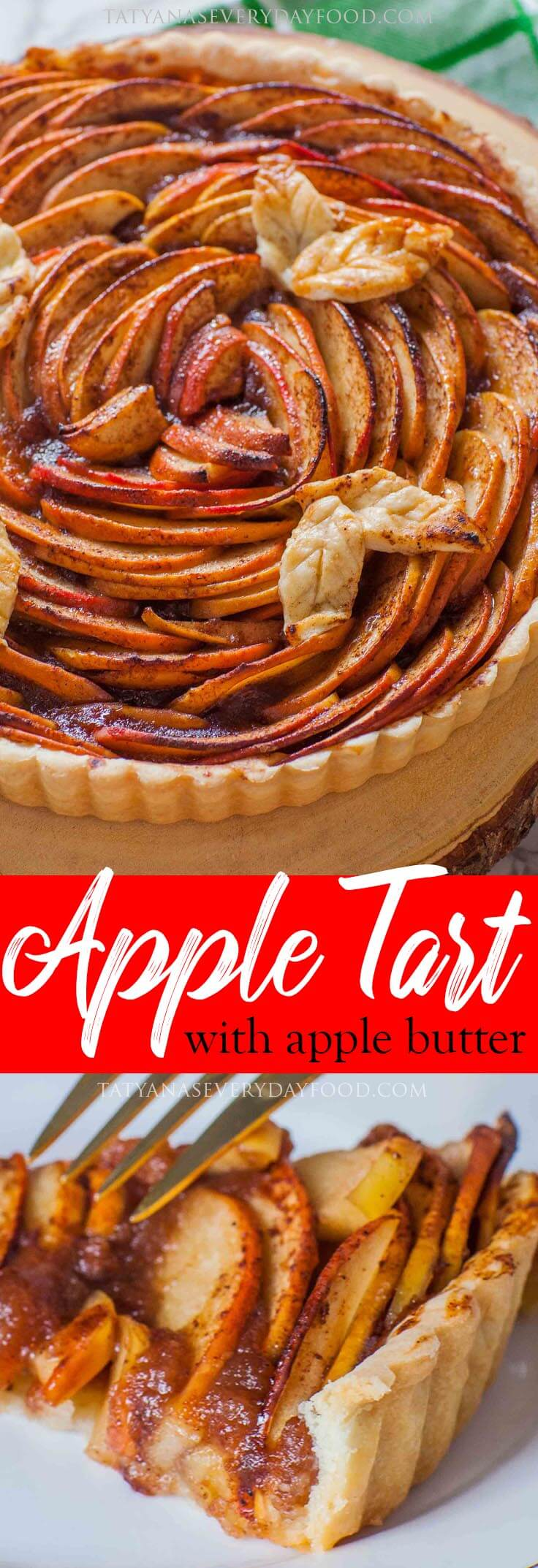The Best Apple Tart Recipe with video