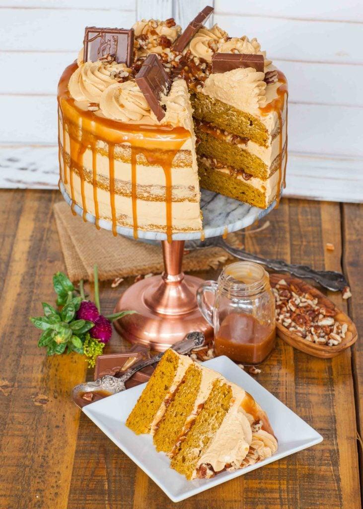 pecan pumpkin cake