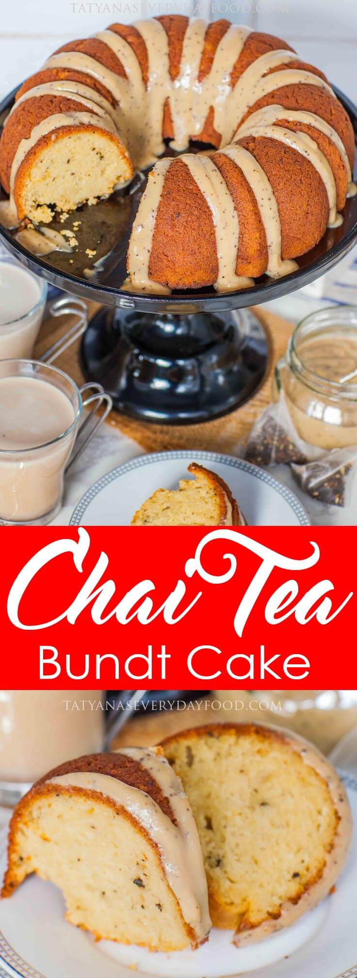 Chai Tea Bundt Cake video recipe