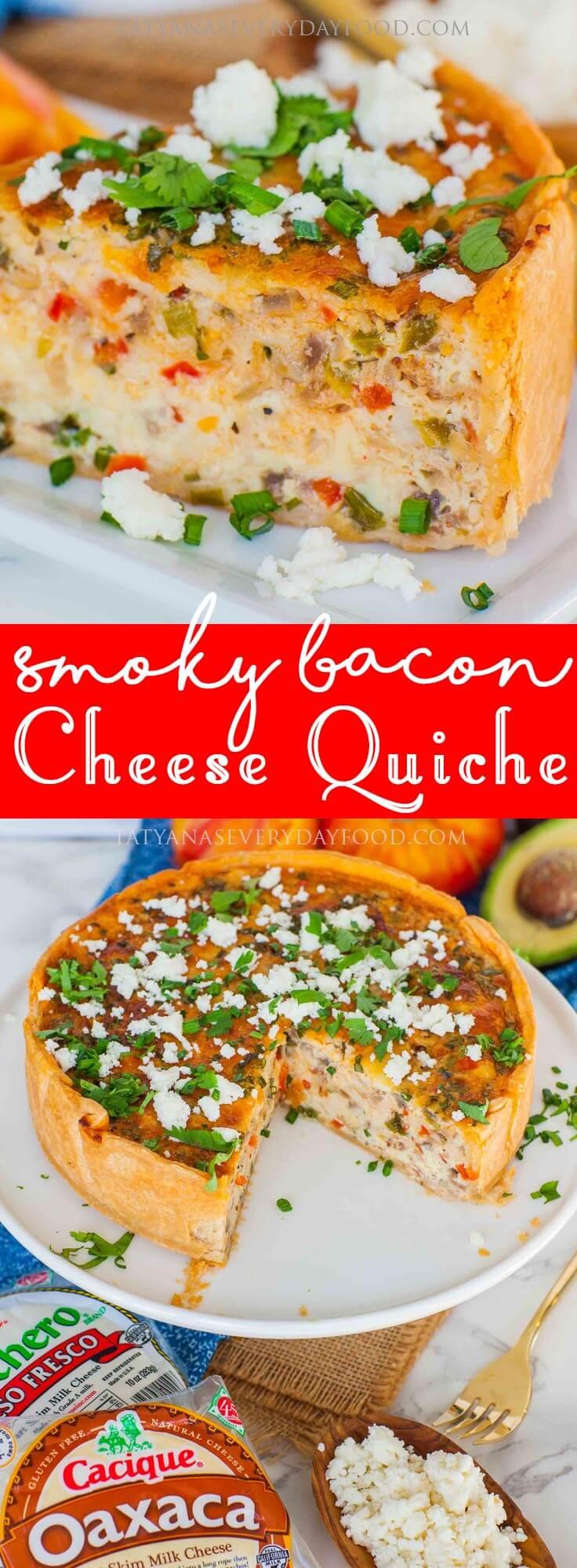 Bacon Cheese Quiche video recipe