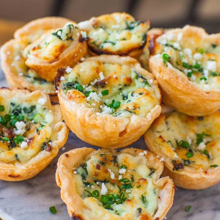 Spinach Panela Tartlets