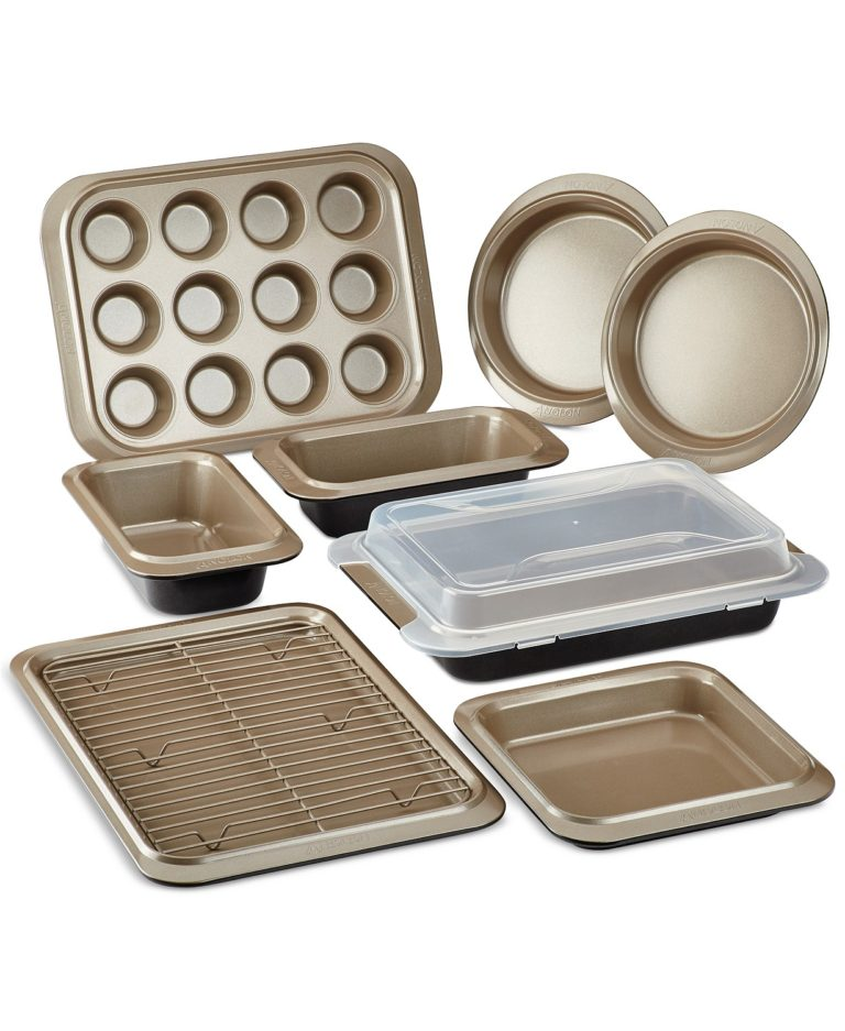 Anolon 10-piece bakeware set