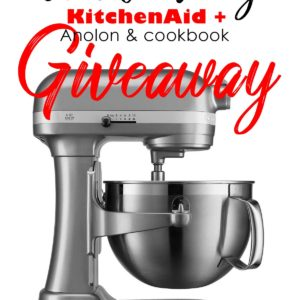 Black Friday KitchenAid Anolon Cookbook Giveaway