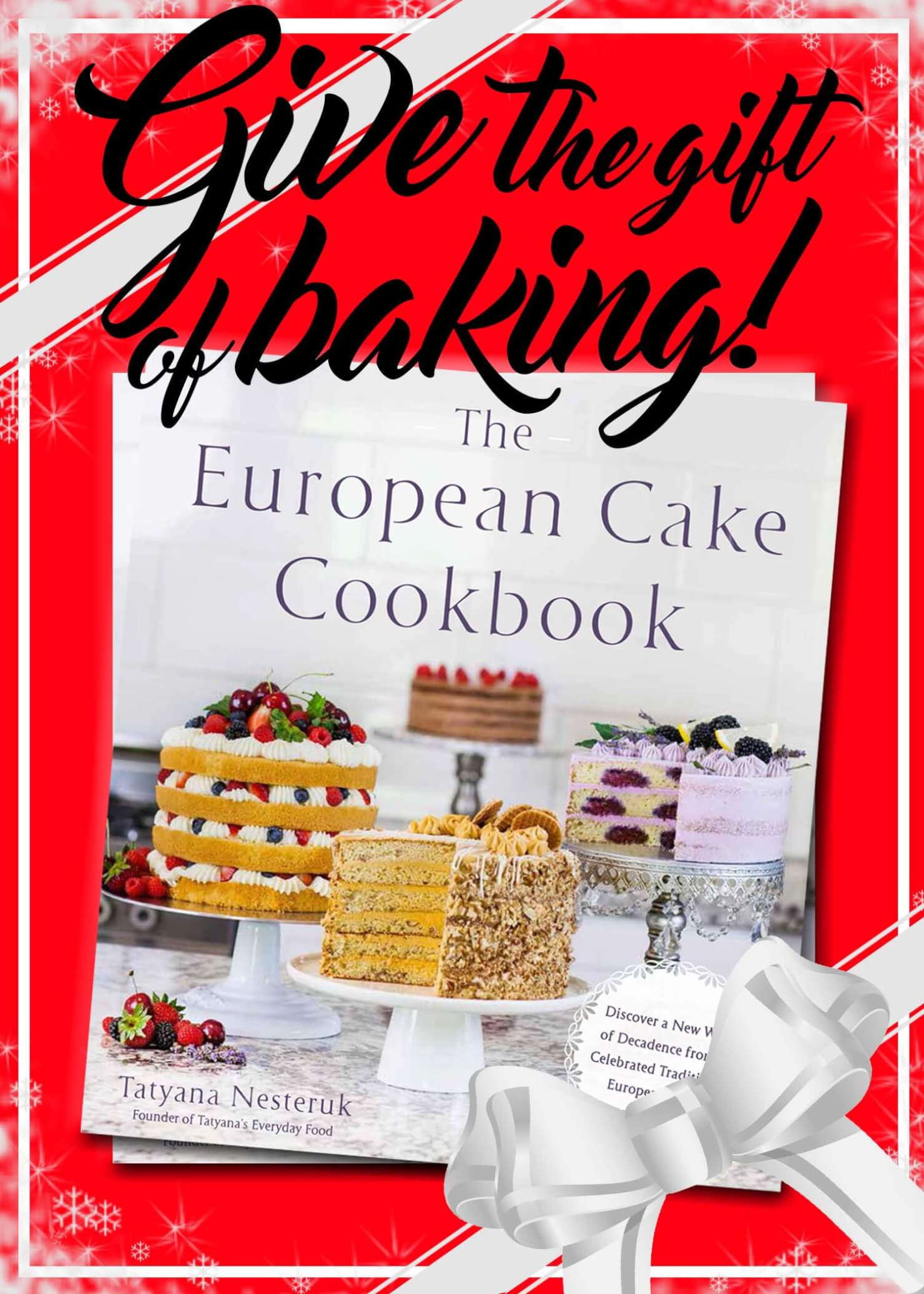 cookbook gift for Christmas