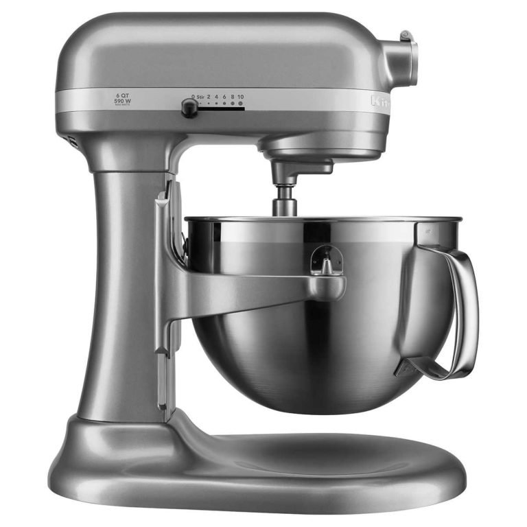 grey kitchenaid mixer