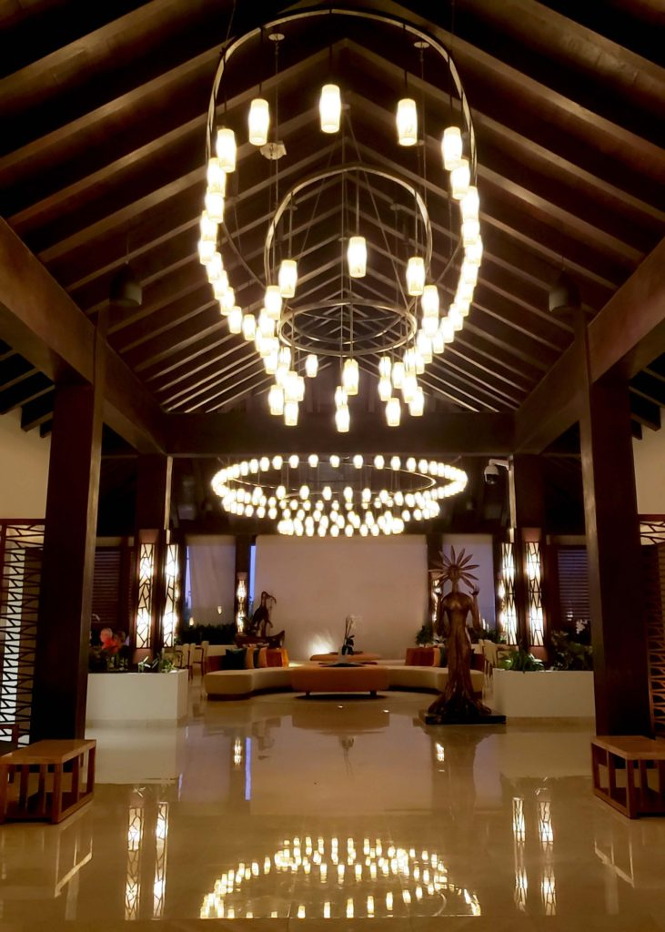 Secrets Playa Mujeres main lobby